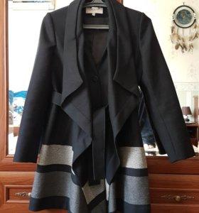 Пальто 44р. karen millen шерсть 100%. Оригинал.