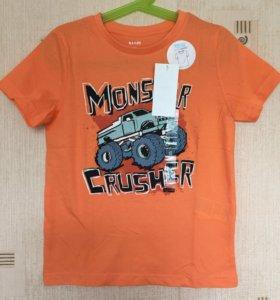 Новые футболки на 4 и 6 лет в наличии
