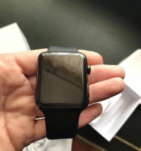 Часы Apple 42 mm sport black