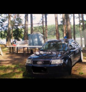 Audi A6 без двигателя!