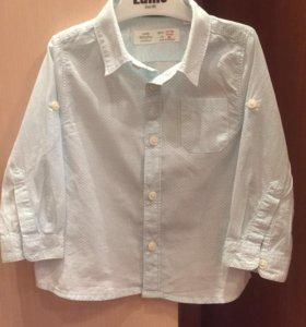 Рубашка Zara 86 р-р