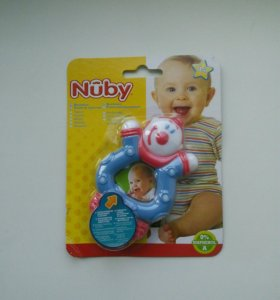 🆕 Новая игрушка-прорезыватель Nuby