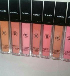 Матовые блески Chanel