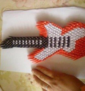 Оригами гитара
