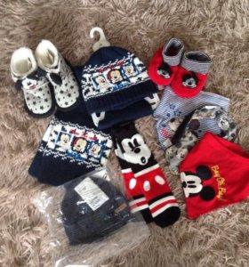 Микки маус для мальчика одежда и обувь