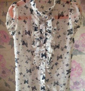 Блузка для девочки 128-134