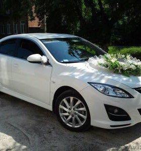 Белоснежная Mazda 6 на Вашу свадьбу