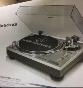 Audio-TechnicaLP120usb  новый в коробке+ пластинки