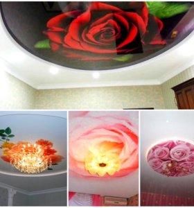 Потолки 3D дизайн бесплатно