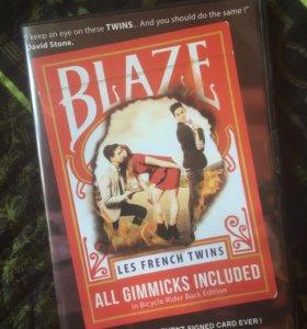 карточный трюк  Blaze
