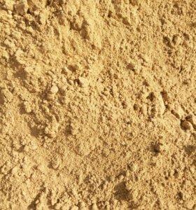 Песок речной, песок строительный