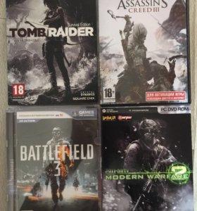 Компьютерные игры: Assassin,Battlefiel
