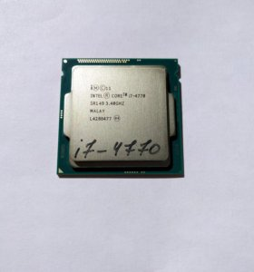 Процессор Intel Core i7 4770 OEM + подарок