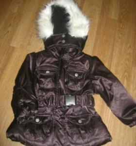 Новая осенняя детская куртка на девочку
