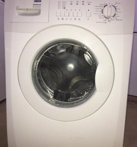 Zanussi узкая стиральная машина 38 см