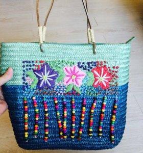 сумка пляжная новая