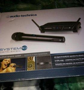 Радио микрофон( audio- technica) ATW-1102