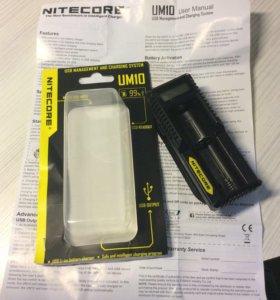 Продам зарядное Nitecore UM10 для li-ion