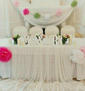 Декор свадьбы оформление зала