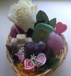 Подарочный набор ручного мыла