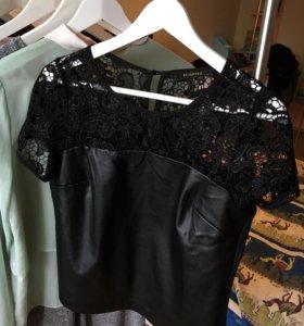 Блузка чёрная RESERVED