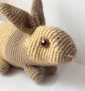 Вязаный кролик