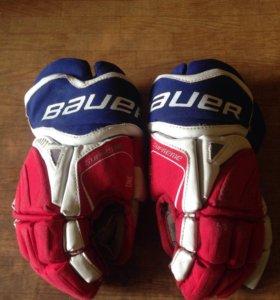 Краги (перчатки) хоккейные Bauer One55