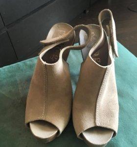 Туфли , замша натуральная Испания 37