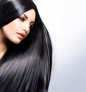 Подравнивание волос-100р,челки-50р