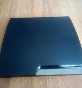 Прошитая PlayStation 3 +(игры gta5,fifa 17)