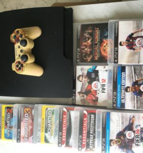 Sony PlayStation 3  и 10 дисков