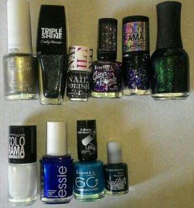 Лаки для ногтей новые