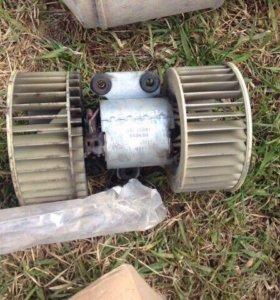 Мотор печки на BMW e39