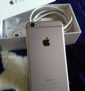 IPhone 6 64gb. Полный комплект. Оригинал. Идеал