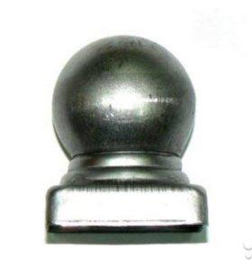 Заглушки с шаром на квадратные столбы
