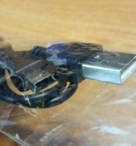 Кабель USB 2.0 в mini USB 2.0