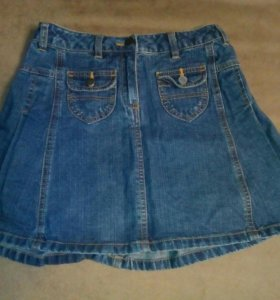 3 джинсовые юбки.