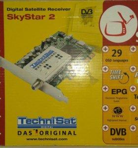 Спутниковая DVD плата SkyStar 2