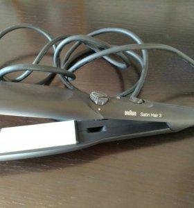 Стайлер для выпрямления волос braun satin hair 3