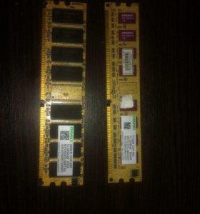 Оперативка KINGSMAX DDR 2 на 512mb и 256mb!