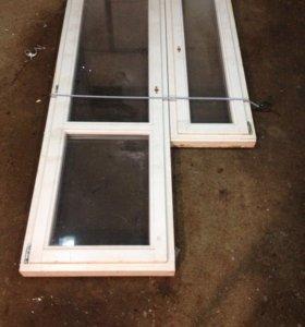 Балконная дверь+ окно