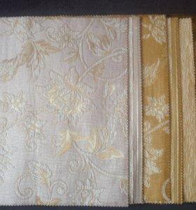 Набор ткани для творчества (горчичный и беж)