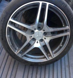 Комплект колёс с sls Mercedes оригинал