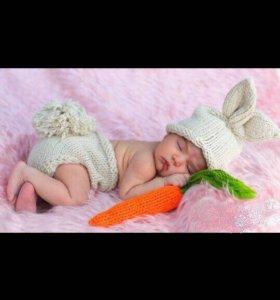 Костюмчики для фотосессии новорожденных