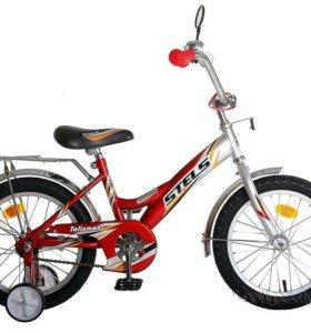 """Велосипед детский стелс 16"""""""