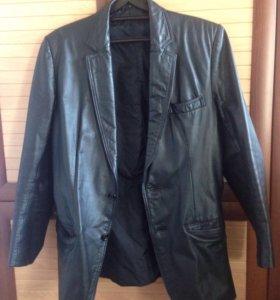 Пиджак из натуральной кожи(срочно)