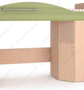 Кровать-чердак с лестницей