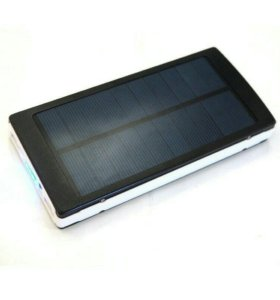 Внешний аккумулятор 35000 mAh с солнечной батареей