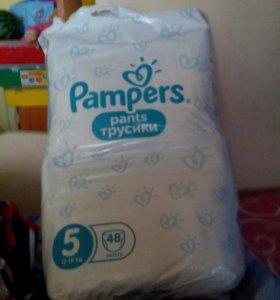 Трусики Pampers pants 5 (12-18кг)