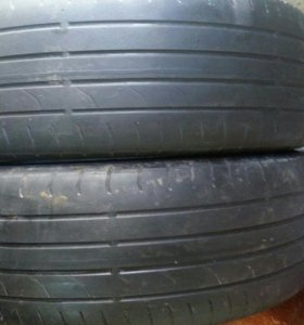 215/55 R17 continental (2шт)
